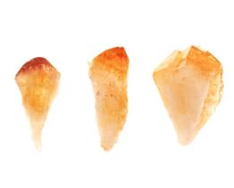 citrien punt (gebrande amethist)