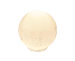 seleniet lamp in bol vorm