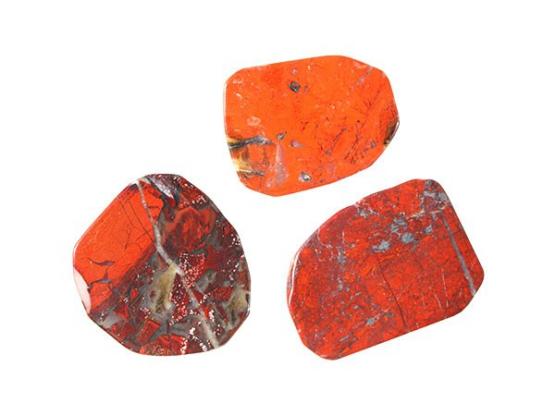 Rode obsidiaan schijf