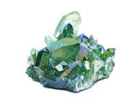 groene aura kwarts