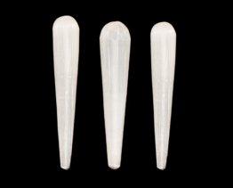 witte seleniet richter of massage staaf