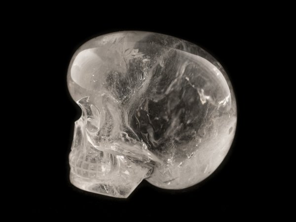 bergkristal schedel, leandro de souza