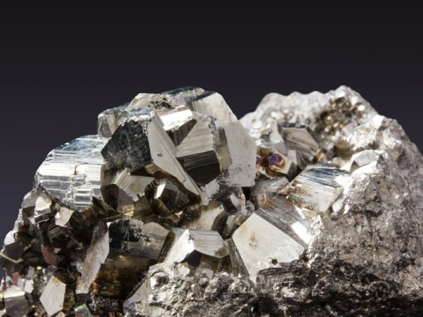 Pyriet, kristallen, mineralen werking