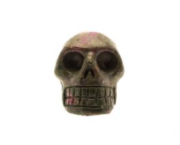 robijn in fuchsiet schedel