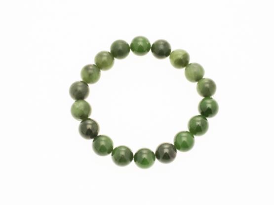 groene jade armband medium