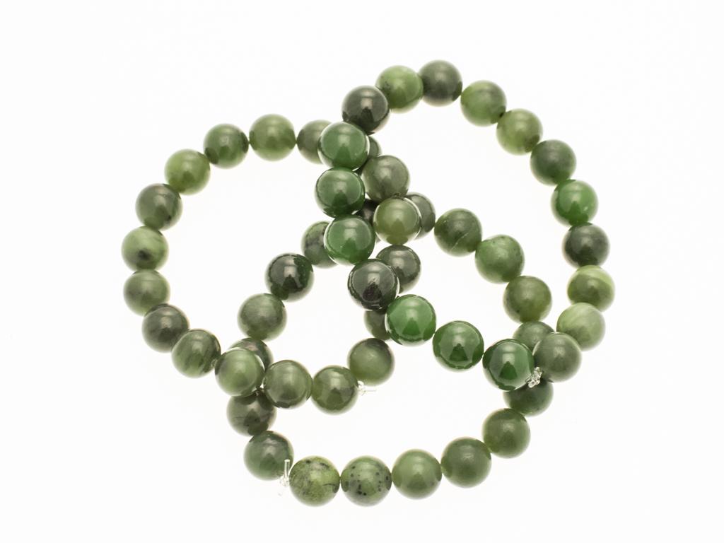 armband groene jade