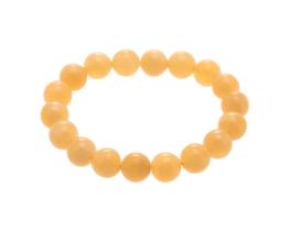 oranje calciet armband