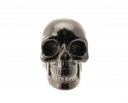 Zwarte Obsidiaan schedel