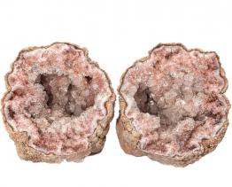 roze amethyst geode