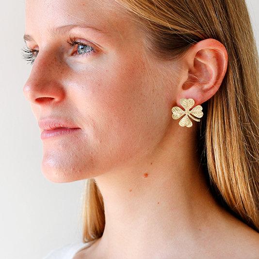 oorbellen van Christine Bekaert