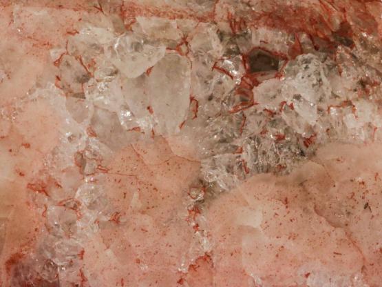 roze amethist hart