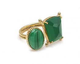 Malachiet ring