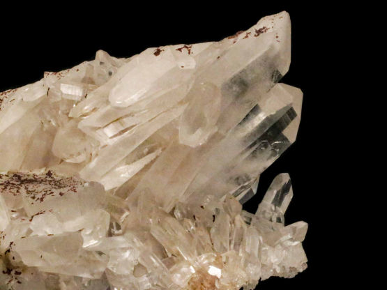 bergkristal cluster