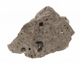 Herkimer diamanten in rots