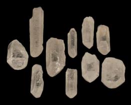 lemurisch bergkristal punt